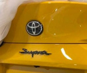 Leaked Image of New Toyota Supra's Booty Surfaces
