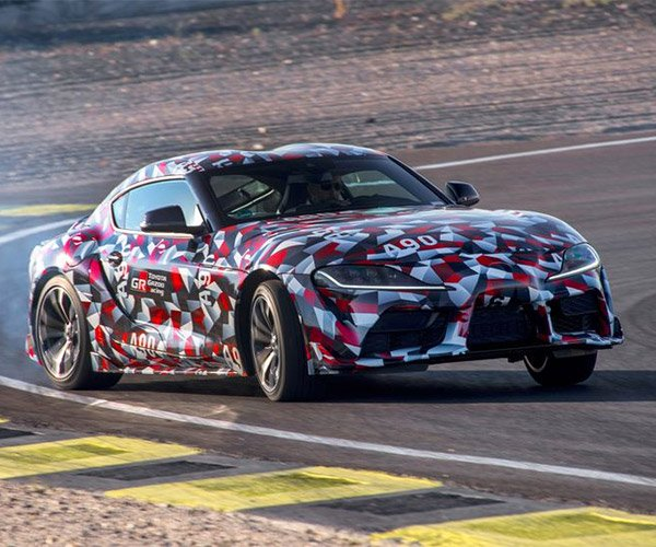 Toyota Taunts Supra Fans with Sweet, Sweet Exhaust Note