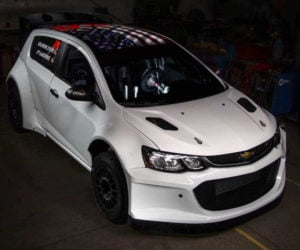 This Chevy Sonic Rally Car Rocks LS3 V8 and AWD