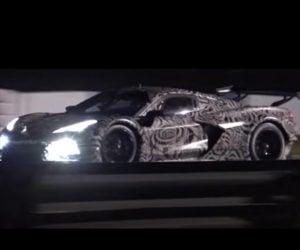 Corvette C8.R Mid-Engine Beast Hits Sebring