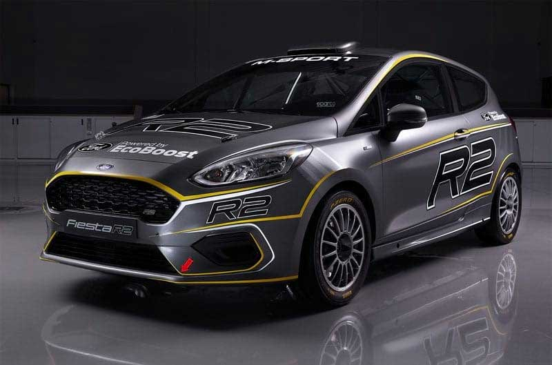 Ford Fiesta R2 Rally Car Is Ready for FIA R2 Regs