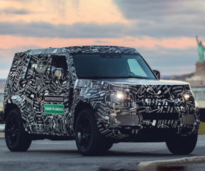 2020 Land Rover Defender Teased, Coming to North America