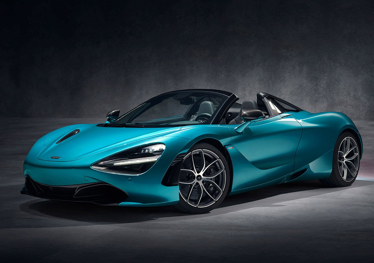 McLaren 720S Spider Lets the Sun Shine In