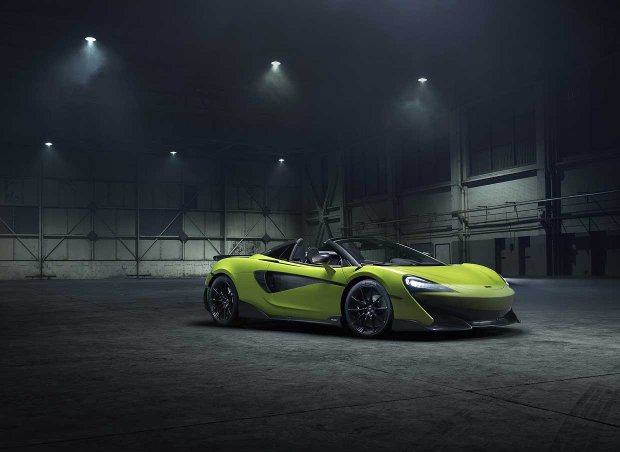McLaren 600LT Spider Opens a Can of Whoop Ass