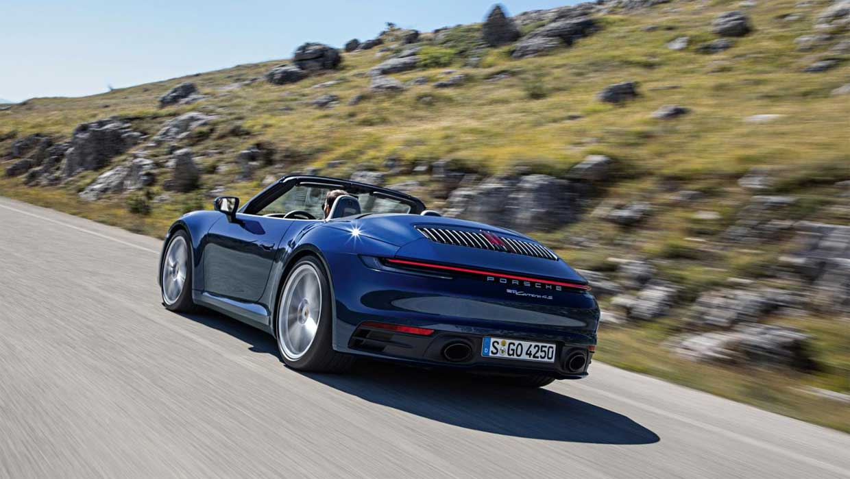 New Porsche 911 Cabrio Debuts Offering More Speed and Style