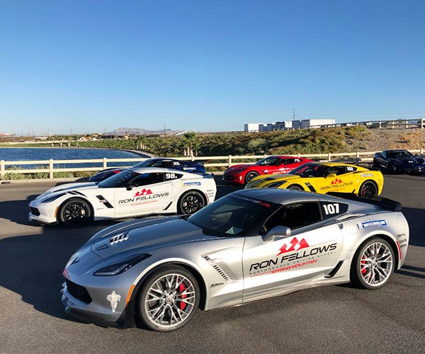 Corvette Owners Driving School at Spring Mountain