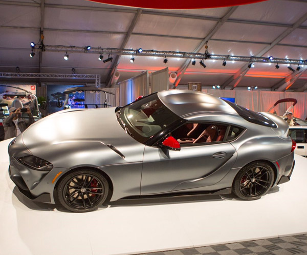 Very Special 2020 Toyota Supra Scoops up $2.1 Million for Charity