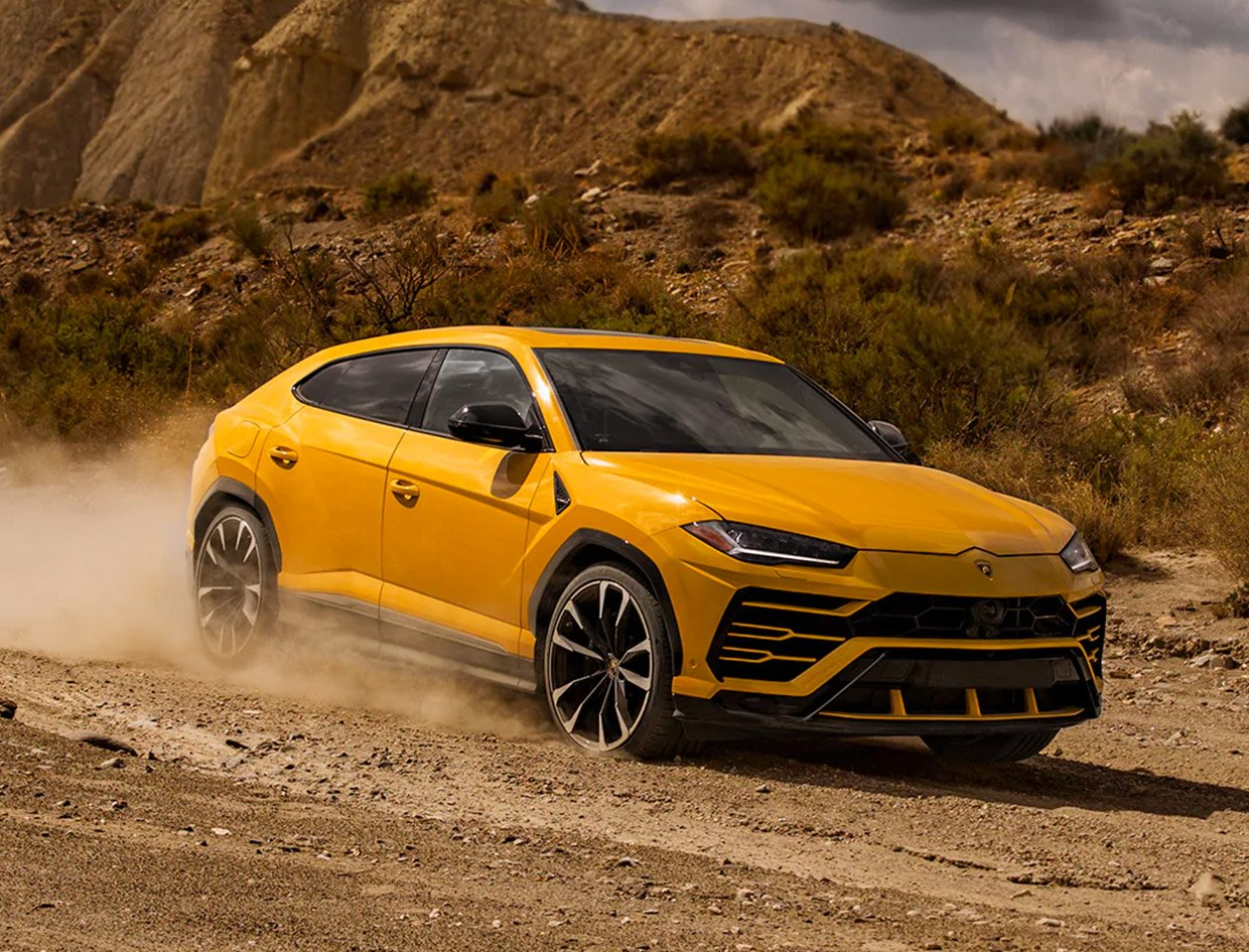 Lamborghini Urus SUV Gets an Off-road Package