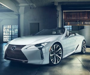Lexus LC Convertible Concept Drops the Top on the LC 500