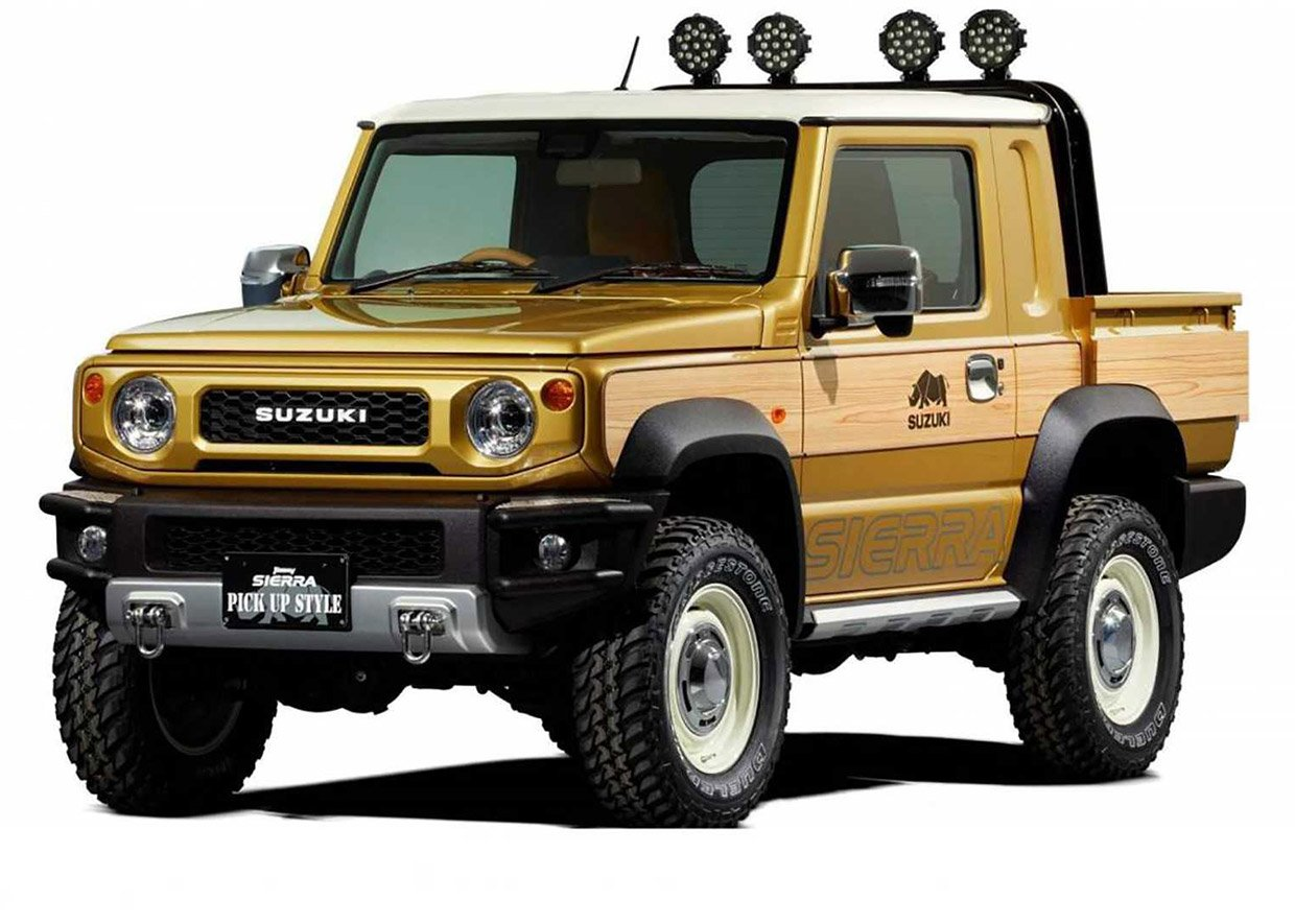 Suzuki Jimny Sierra Truck Concept Is the Samurai Reboot We All Want