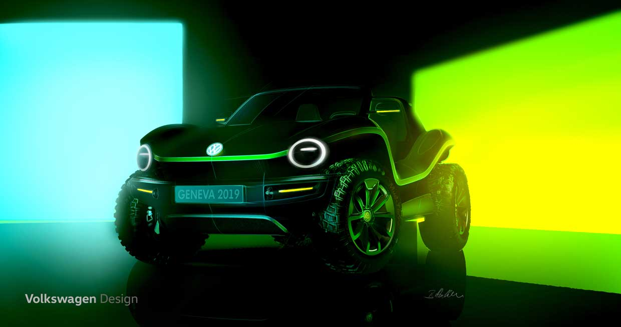 Volkswagen Dune Buggy Reborn as an EV