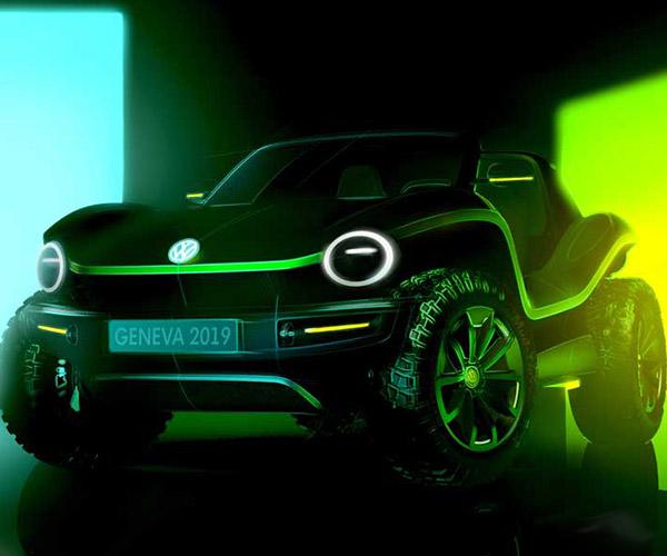 Volkswagen Dune Buggy Reborn as an EV
