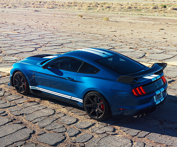 2020 Ford Mustang GT500 Exhaust Modes Sound Off