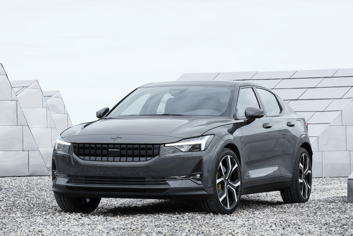 Polestar 2 Is a Pure Electric Set to Take on Tesla's Model 3