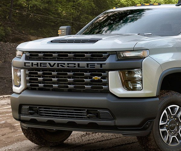 Chevy Points Finger at Focus Groups for Silverado HD Grille