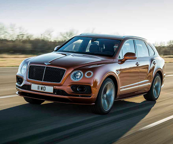 Bentley Bentayga Speed Has the Fastest SUV Top Speed