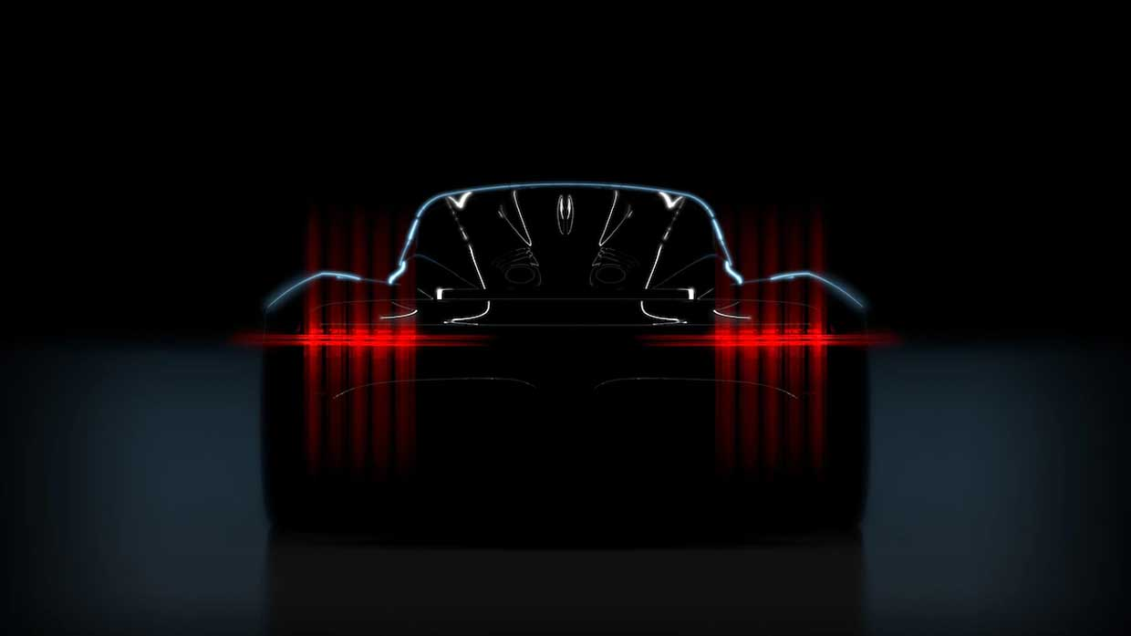 Aston Martin Teases The Rear of Its 003 Hypercar