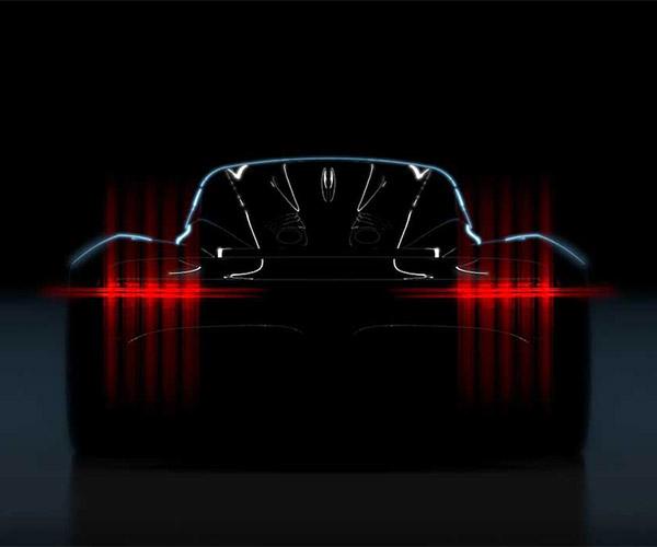 Aston Martin Teases The Rear of Its 003 Hypercar