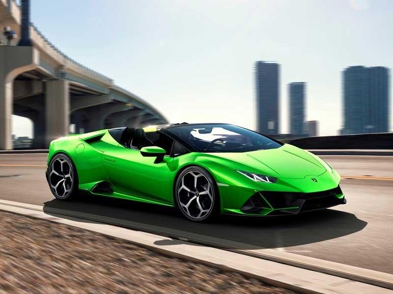 Lamborghini Huracán EVO Spyder is a Topless Wonder