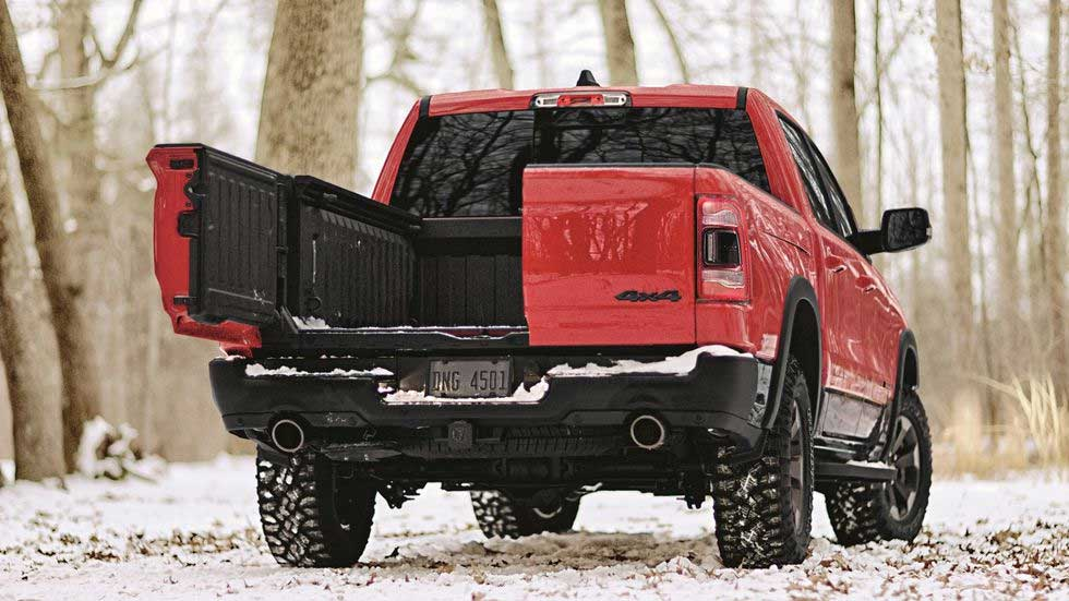 2019 RAM 1500 Multifunction Tailgate Has a Split Personality