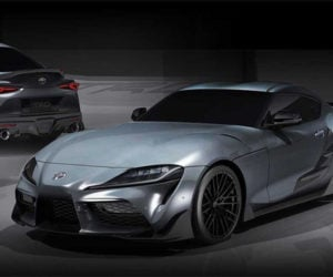 Toyota Supra TRD Concept Brings the Downforce