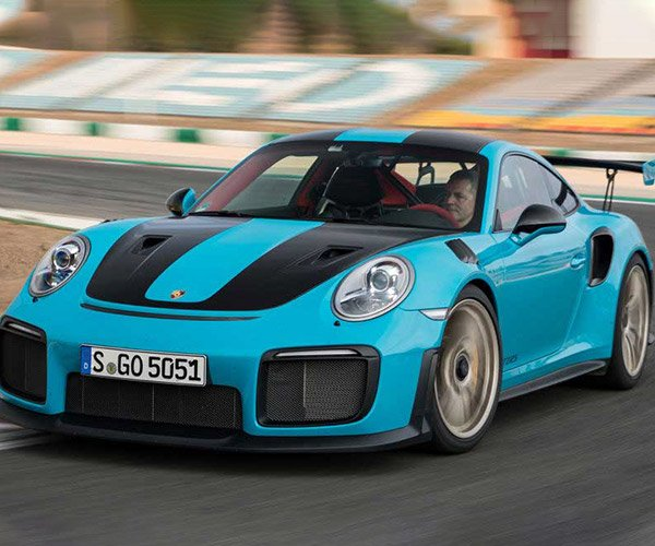 Ship Sinks Hundreds of Cars Including Four Porsche 911 GT2 RS Cars
