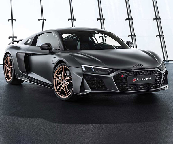 Audi R8 V10 Decennium Edition Celebrates 10 Years of V10s
