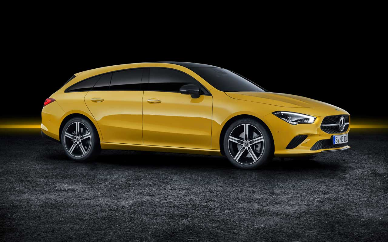 Mercedes-Benz CLA Shooting Brake Sadly Not US-bound