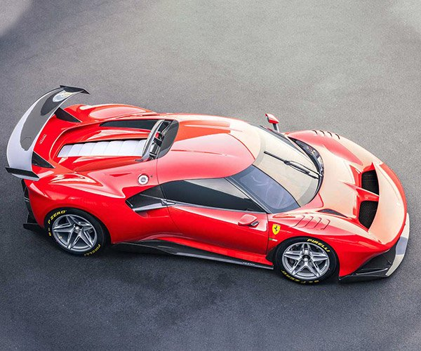 Ferrari P80/C is a One-off Extreme Track Racer
