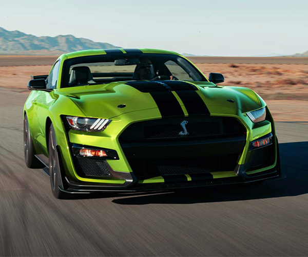 Grabber Lime Ford Shelby GT500 Has Us Green with Envy