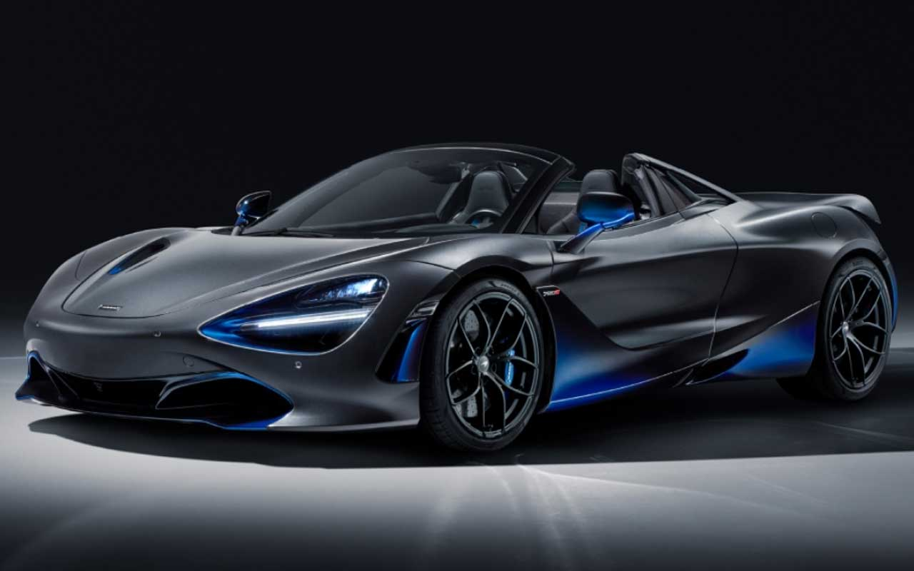 McLaren 720S Spider by MSO is a Blue-trimmed Bruiser