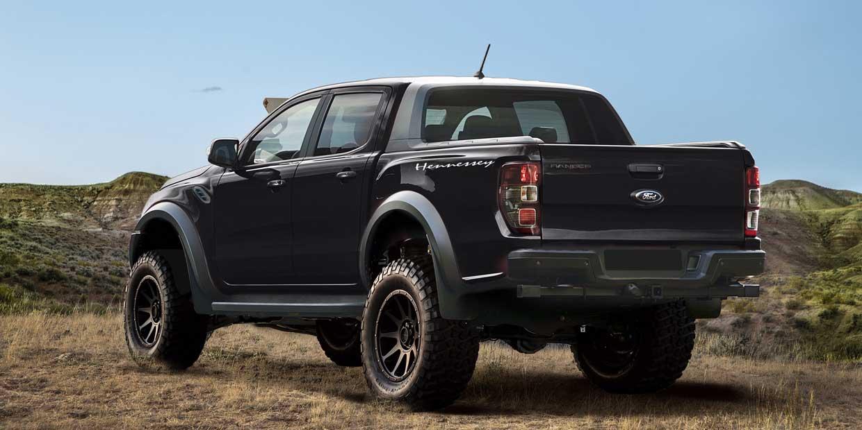 hennessey velociraptor ford ranger adds hp   lift