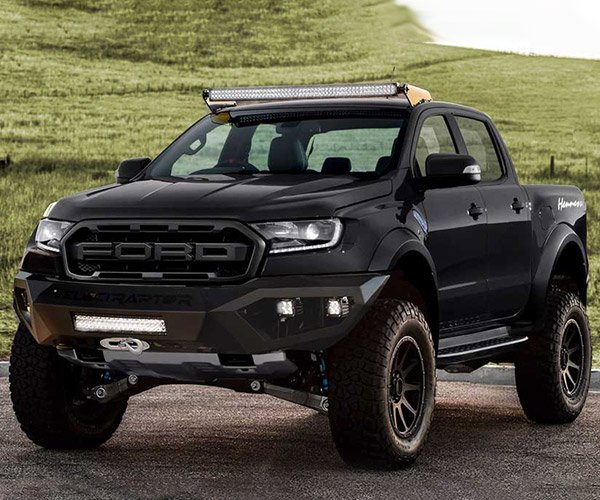 Hennessey VelociRaptor Ford Ranger Adds 80hp, 4-inch Lift