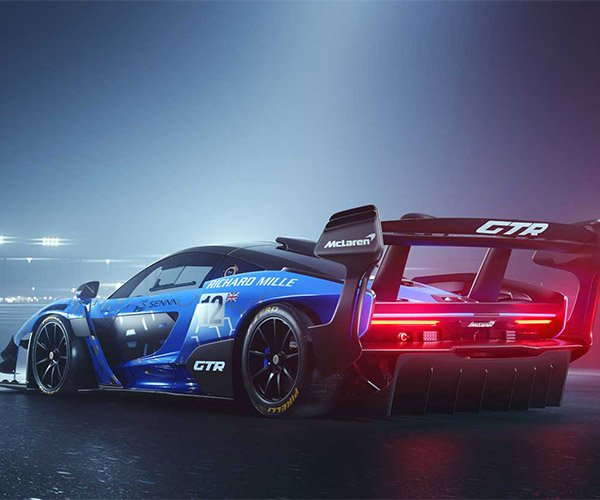 McLaren Senna GTR Makes a Crushing 2,205 lbs of Downforce