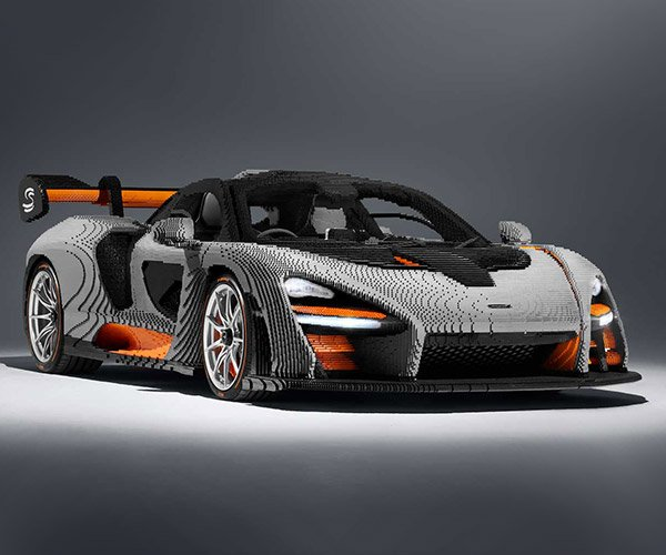 LEGO McLaren Senna Took Longer to Build Than an Actual Senna