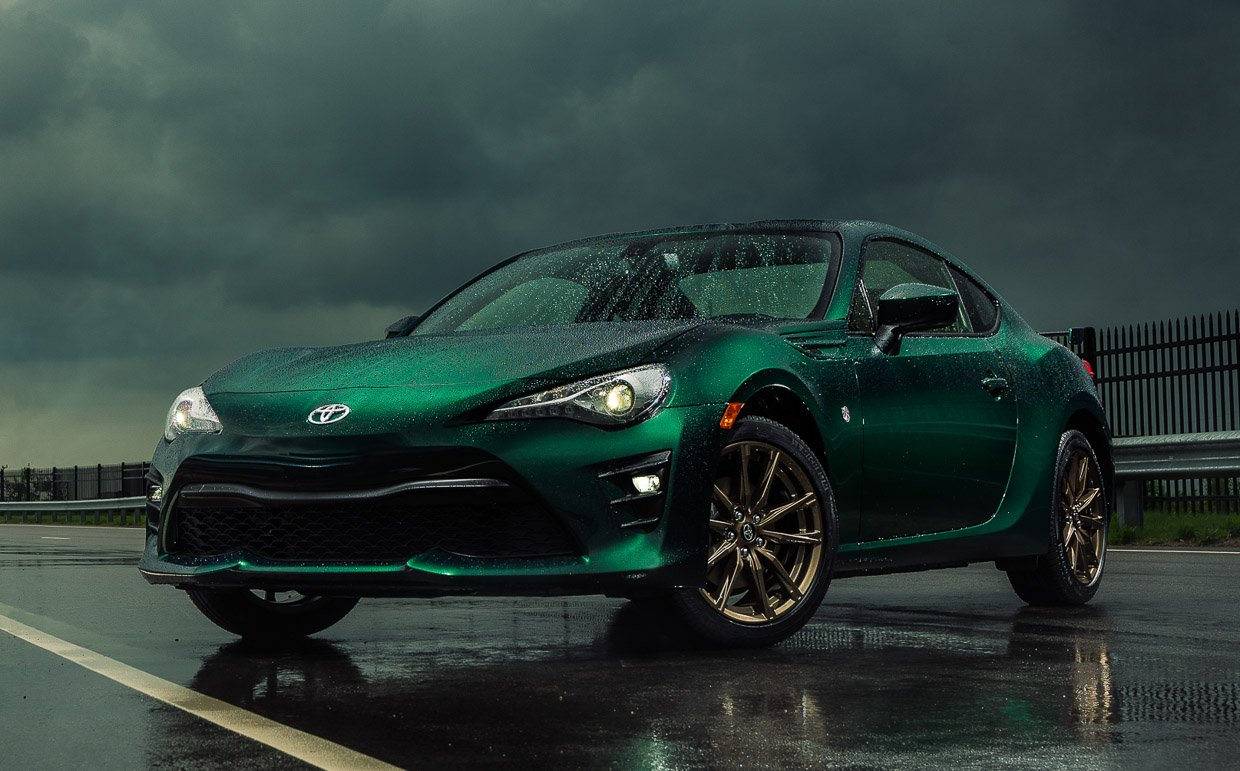 2020 Toyota 86 Hakone Edition Brings the Green