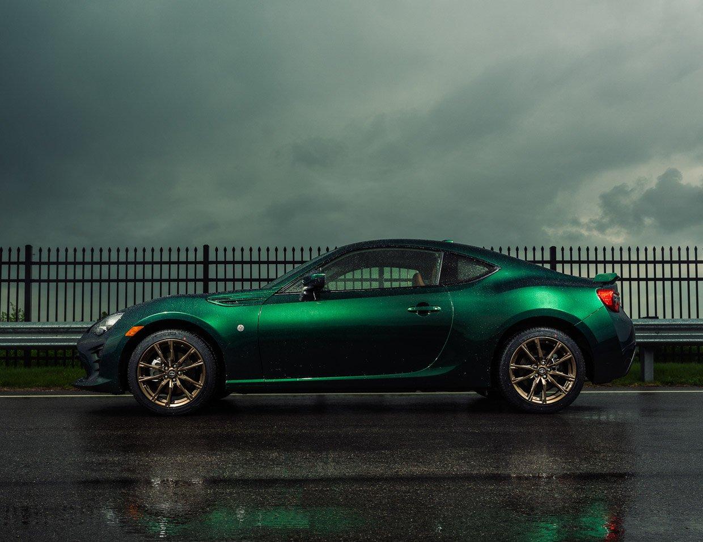 2020 Toyota 86 Hakone Edition Brings the Green
