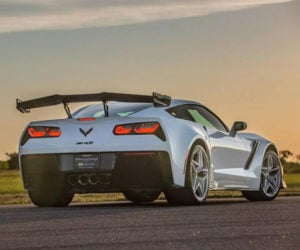 Hennessey Coaxes 1,200hp from a 2019 Corvette ZR1