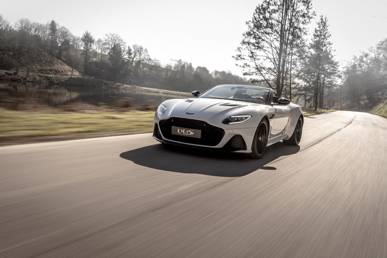 Aston Martin DBS Superleggera Volante Is One Fast Drop Top