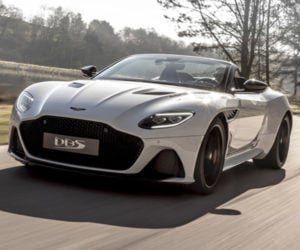 Aston Martin DBS Superleggera Volante Is One Fast Drop Top
