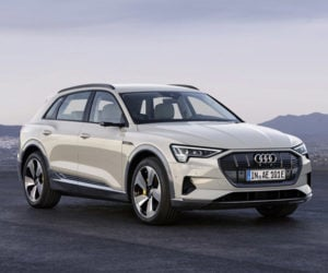 2019 Audi e-tron Electric Crossover Gets EPA Range Estimate