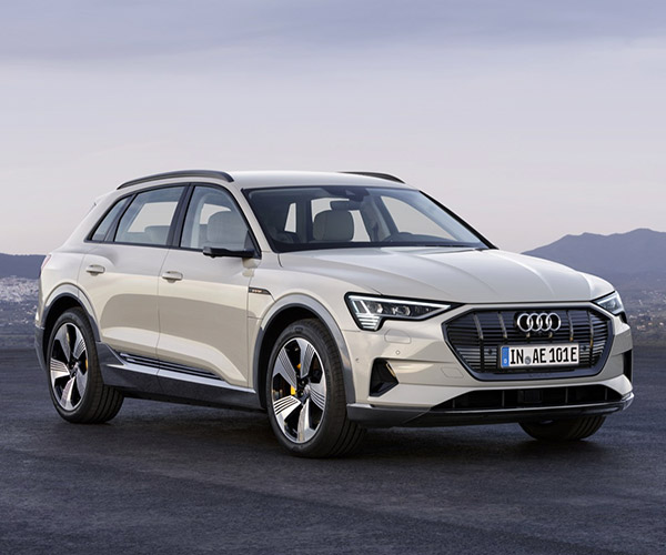 2019 Audi e-tron Electric SUV Gets EPA Range Estimate