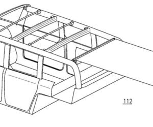 Dual-Layer Retractable Roof Patent Likely for Ford Bronco
