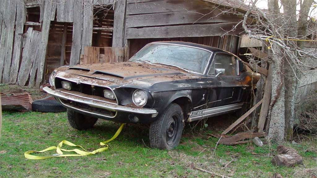 Barn Find '68 Shelby GT500 Heads to Auction As-Is