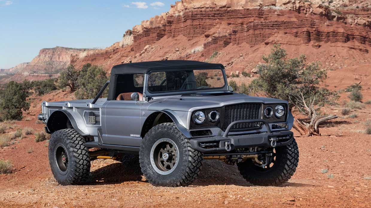 Jeep Five-Quarter is a Hellcat-powered Classic Gladiator