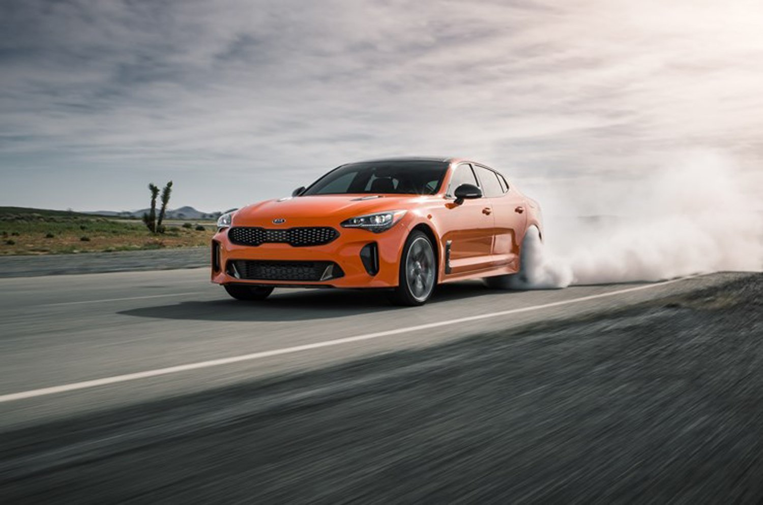 Kia Stinger GTS: Orange You Excited to Drift?