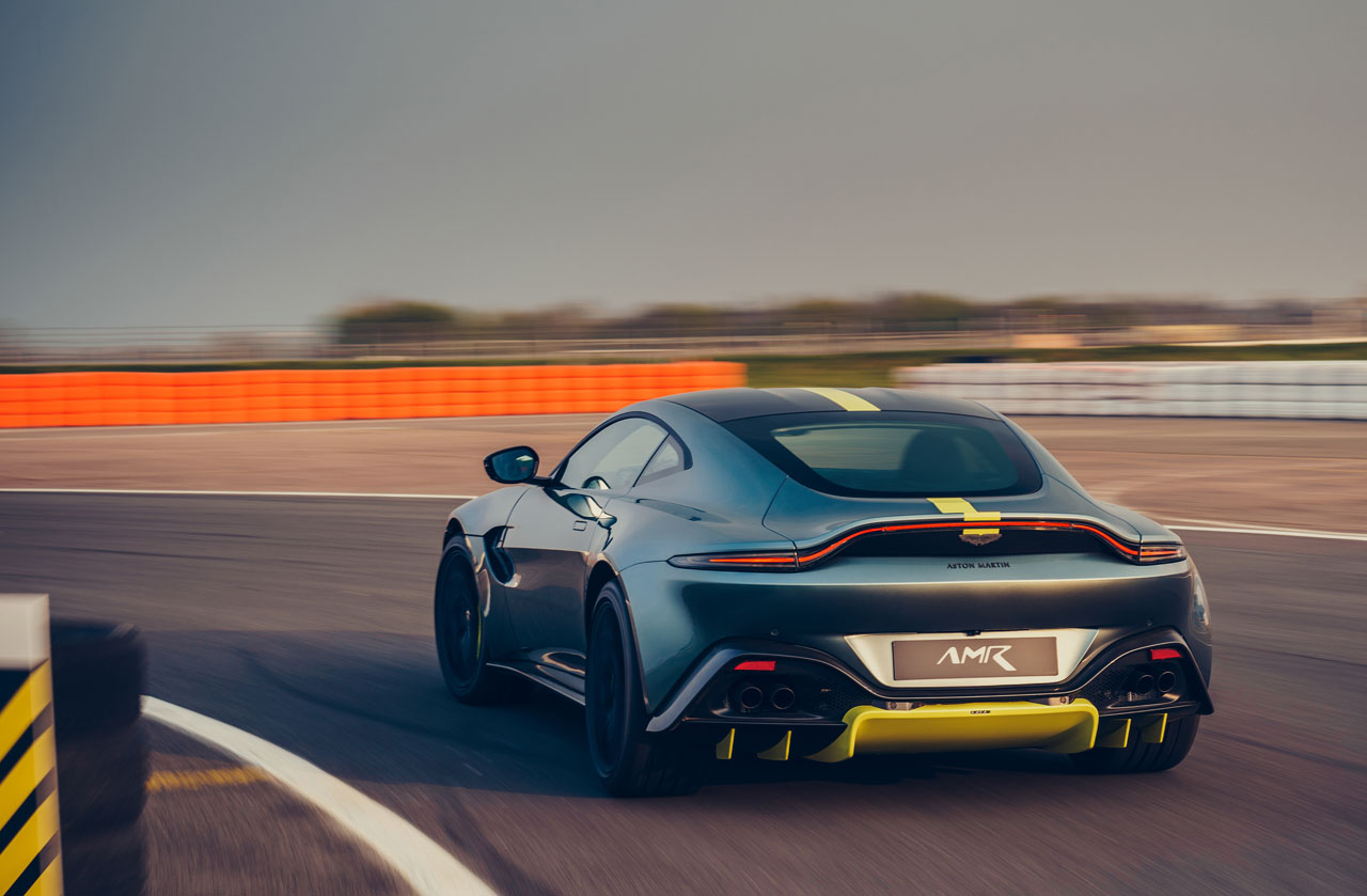 Aston Martin Vantage AMR Helps Save the Manuals