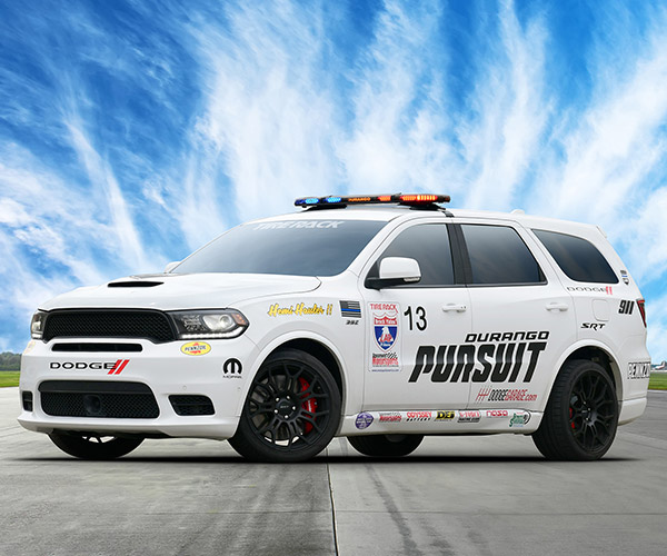"Dodge Durango SRT ""Hot Pursuit"" Defends One Lap of America Crown"