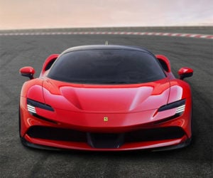 The Ferrari SF90 Stradale Is a 985hp Hybrid Hypercar