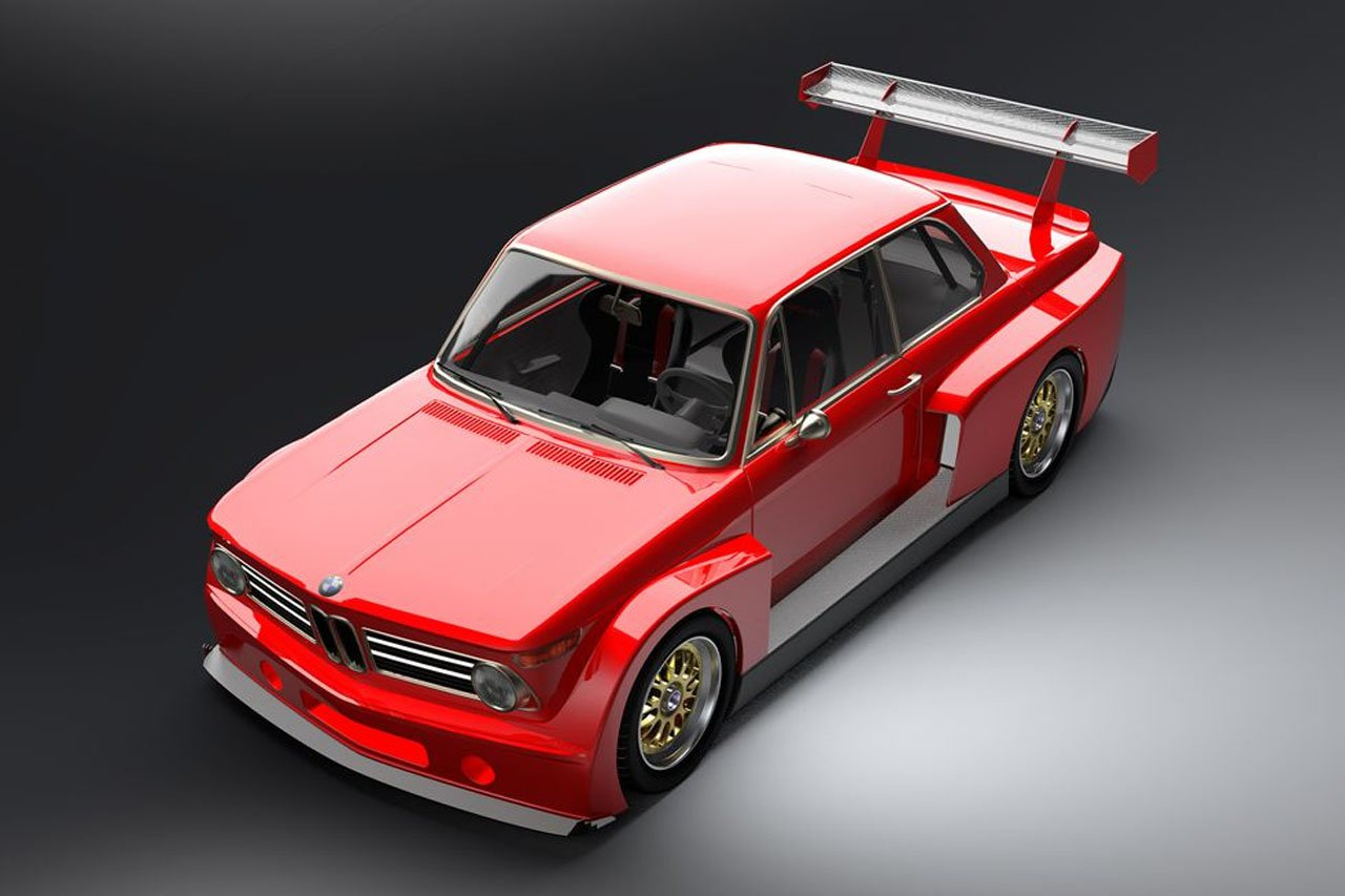 Gruppe5 Motorsports BMW 2002 Will Have You Seeing Red